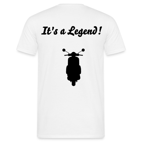 Legend_Back - Männer T-Shirt