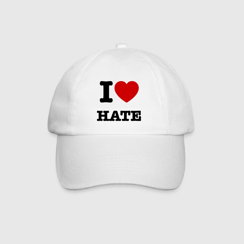 I Love Hate - Cap - Baseballkappe