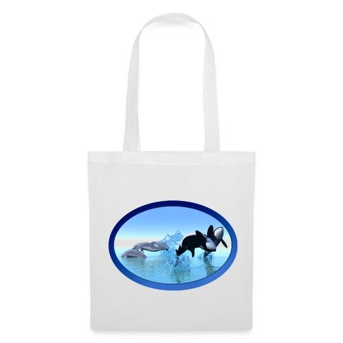 Dolfijnen en Orka's - Tas van stof