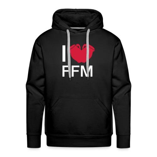Ich liebe FFM Bembel-Edition - Männer Premium Hoodie
