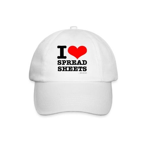 I Love Spreadsheets Baseball Cap - Baseball Cap