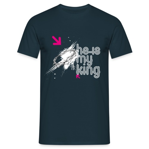 He's my king - T-shirt Homme