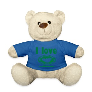 I LOVE moorea teddy bear - Nounours