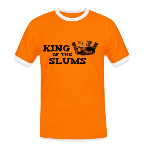 King of the Slums - Men's Ringer Shirt