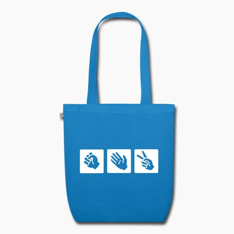 Stoffen Tas Design : Steen papier schaar stoffen tas spreadshirt