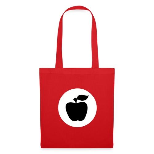 Tragetasche Apfelfront  - Stoffbeutel