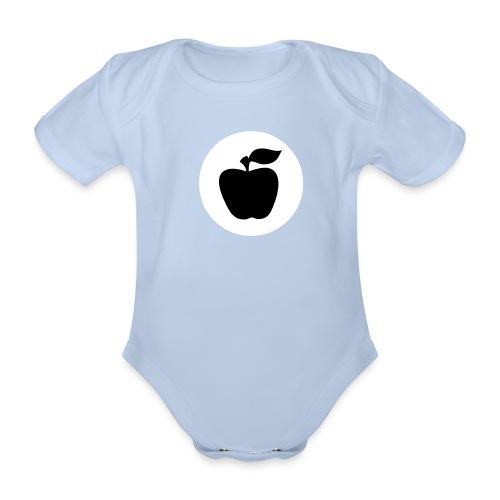 Strampler Apfelfront  - Baby Bio-Kurzarm-Body