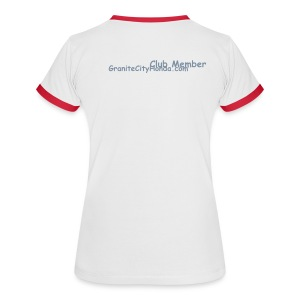 Womans GCH Club Memeber T-shirt - Women's Ringer T-Shirt