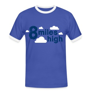8 Miles High - Men's Ringer Shirt