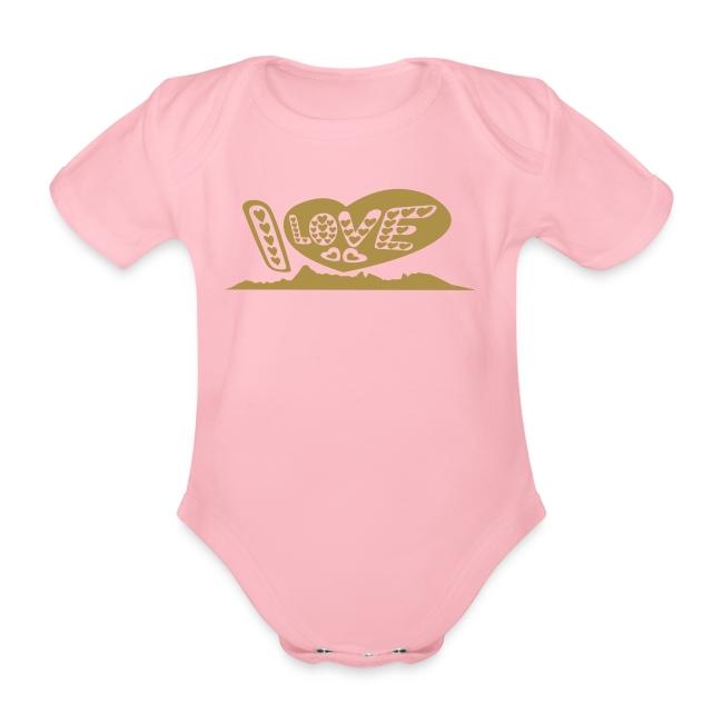 I LOVE Moorea baby body