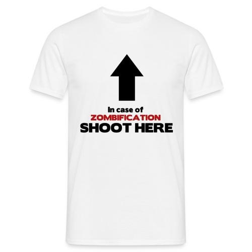 Zombification - Men's T-Shirt