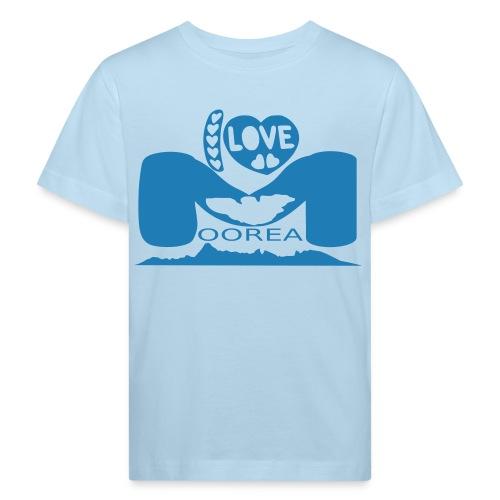 Moorea organic t-shirt for kid - T-shirt bio Enfant