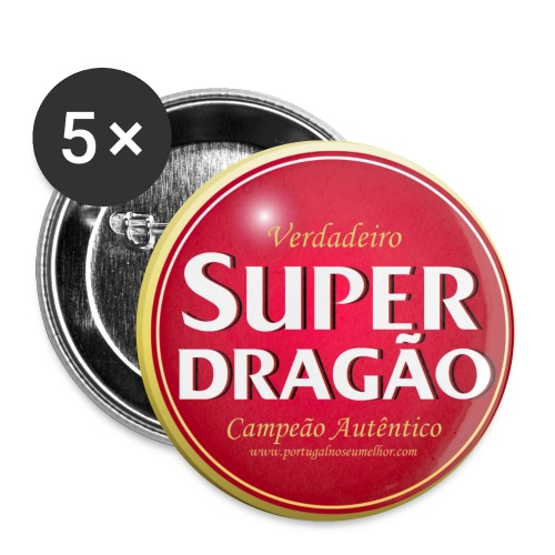 Super Dragão - Buttons small 1''/25 mm (5-pack)