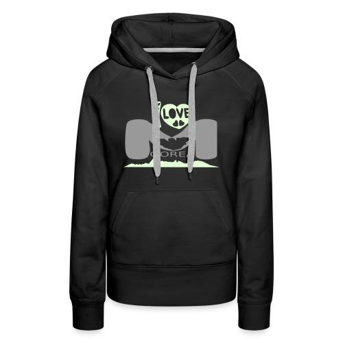 Moorea Hoodie - Sweat-shirt à capuche Premium pour femmes