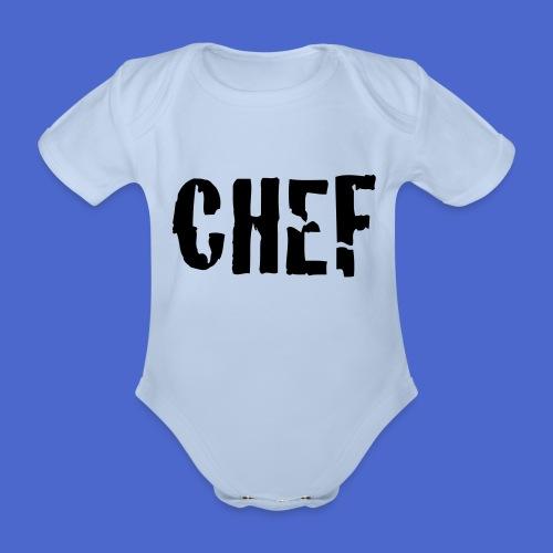 Baby Body -CHEF- - Baby Bio-Kurzarm-Body