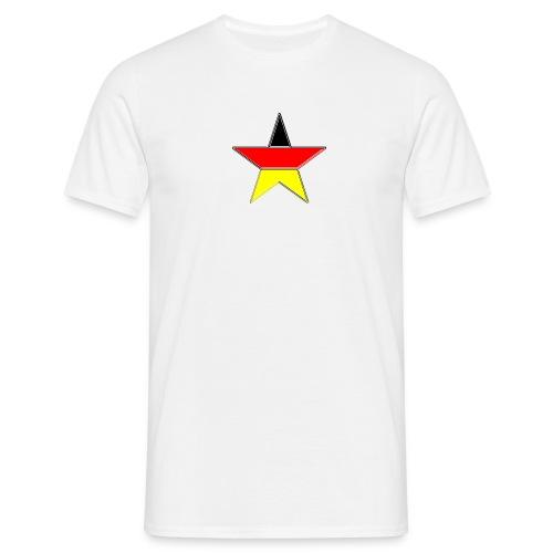Deutschland Stern - Männer T-Shirt