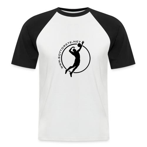 Shirt - Sottorete - Maglia da baseball a manica corta da uomo