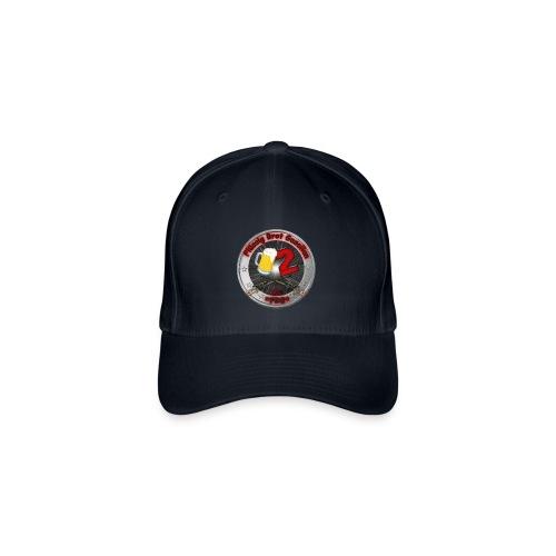 *FBG* Baseballkappe Flexfit weiß,mit Logo - Flexfit Baseballkappe