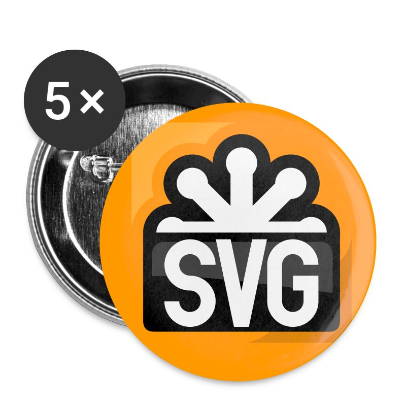 svg_orange_badges - Buttons small 25 mm