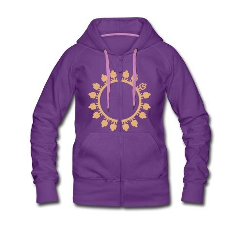 Veste à capuche Premium Femme - sweat disponible en plusieurs colories dans la boutique de tee shirt personnalisé www.sixmilliards.com