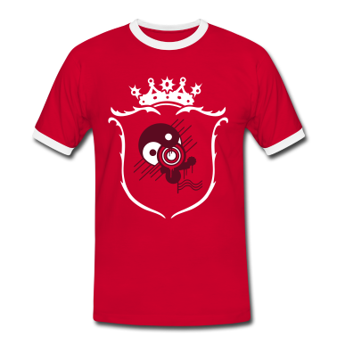 Red/white Coat of arms Men's T-Shirts