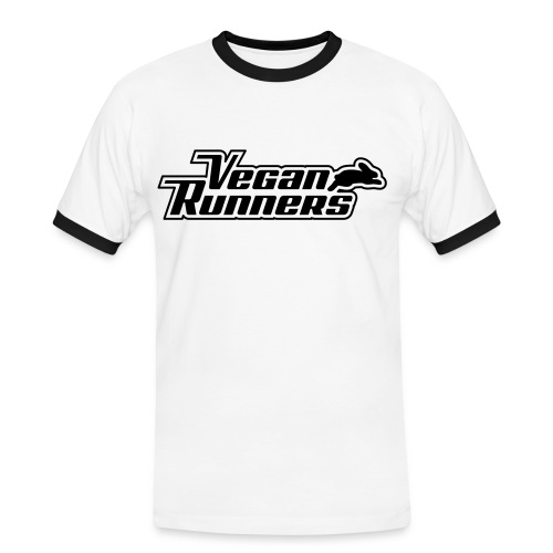 Vegan Runners Ringer - Men's Ringer Shirt