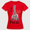 I love Paris - Frauen T-Shirt