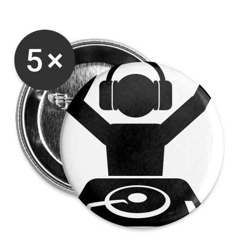 Klips von  DJs - Buttons klein 25 mm