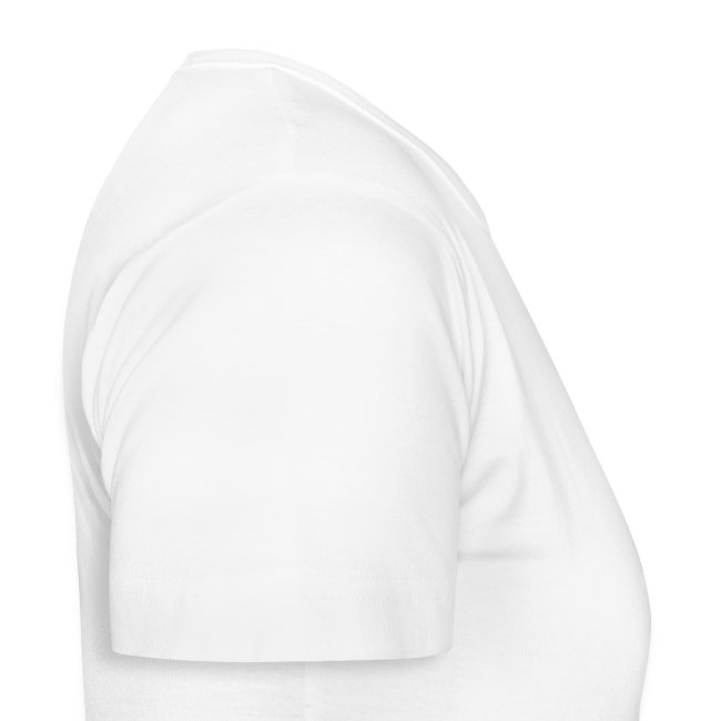 T-Shirt with Logo on Back, White (Female)