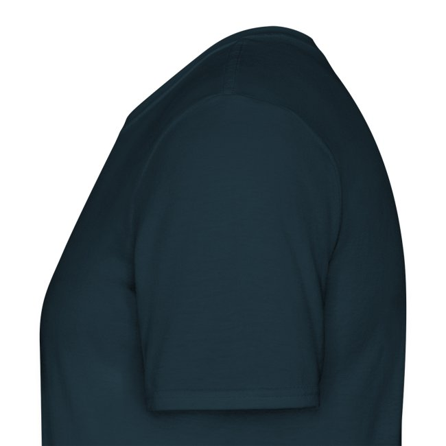 T-Shirt with Logo on Back, Black (Male)