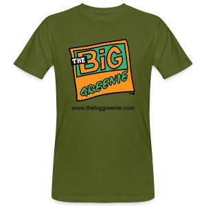 The Big Greenie, Men's Eco Tee - Men's Organic T-shirt