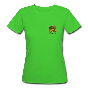 The Big Greenie, Women's Slim Fit Eco Tee - Women's Organic T-shirt
