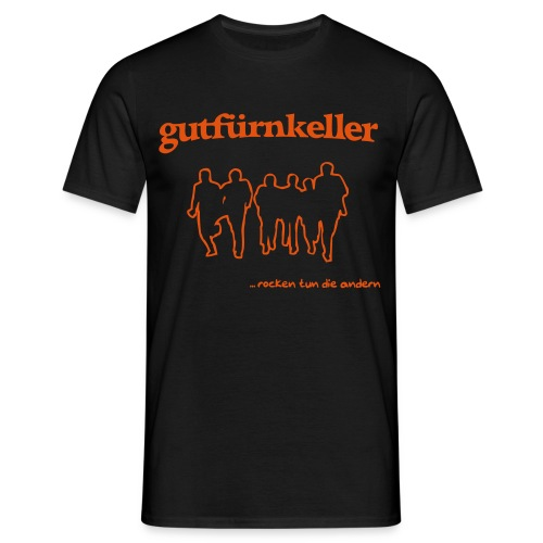 Leibchen H schwarz - Männer T-Shirt