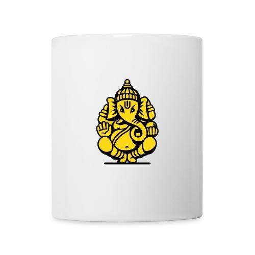 Kaffeetasse Ganesha gelb - Tasse