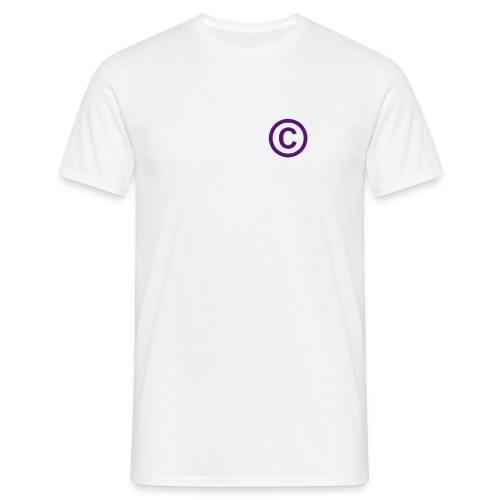 Copyright - T-skjorte for menn