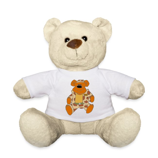 Combat Bear T-Shirt Teddy