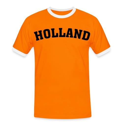 Holland - Mannen contrastshirt
