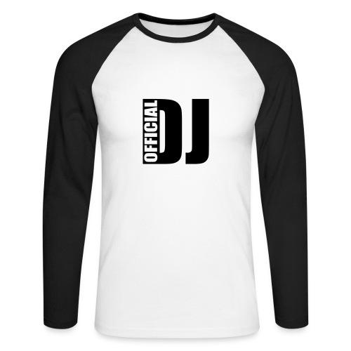 Linea Official Dj  Deon Mills - Maglia da baseball a manica lunga da uomo