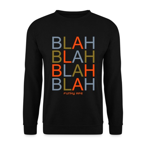 Men Blah, Ape - Men's Sweatshirt