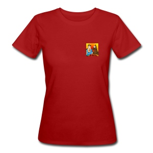 H.P. & Poo, Women's Slim Fit Eco Tee - Women's Organic T-shirt