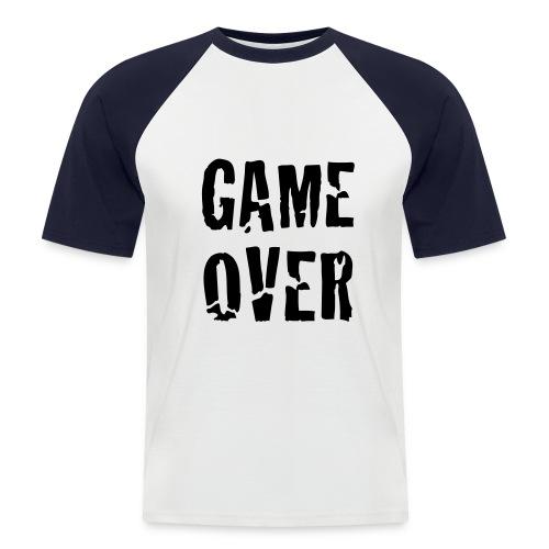 GAME OVER - Miesten lyhythihainen baseballpaita