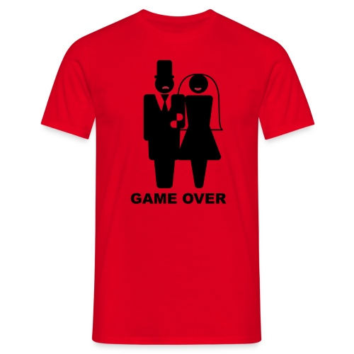 Game over - T-skjorte for menn