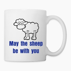 White Sheep Mugs