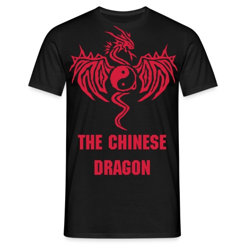 the chinese dragon - Mannen T-shirt