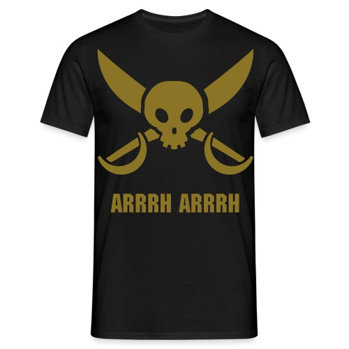 pirate arrrh - Mannen T-shirt