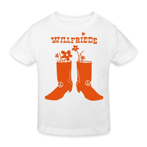 Willfriede Boots - Young! - Kinder Bio-T-Shirt