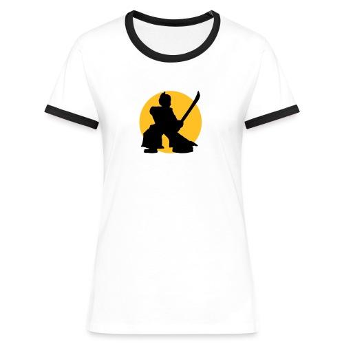 Women's Samurai T - Women's Ringer T-Shirt