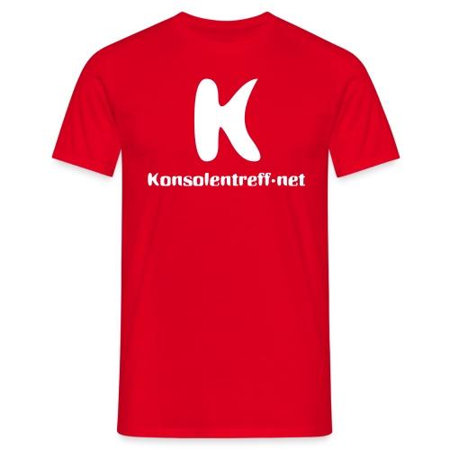 KT-Shirt Rot - Männer T-Shirt