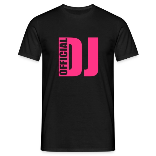 Official DJ - T-shirt Homme