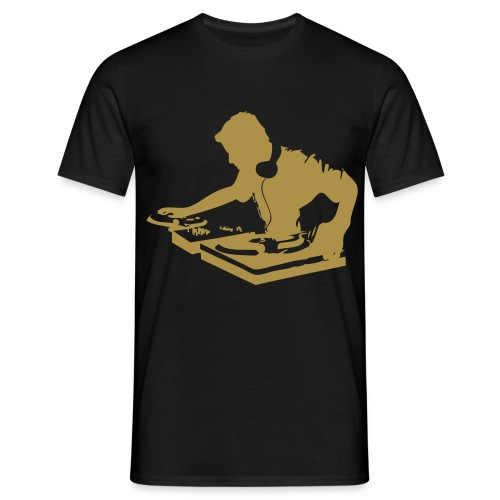 DJ Or Paillette - T-shirt Homme